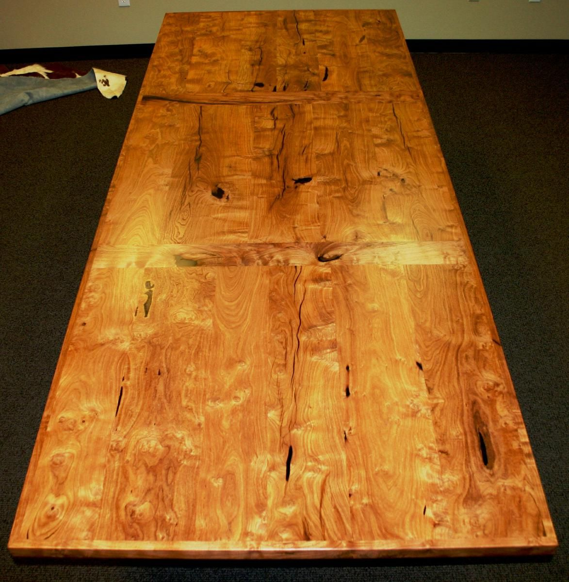 Custom Made The Crockett X Burl Mesquite Conference Table By - 10 x 4 conference table