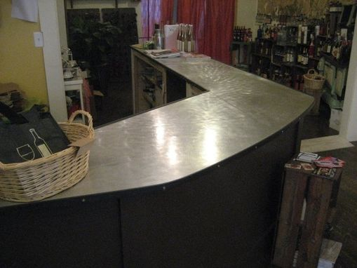 Custom Made Aluminum Countertop