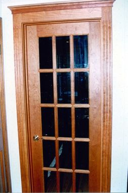 Custom Made Interior Cherry Door