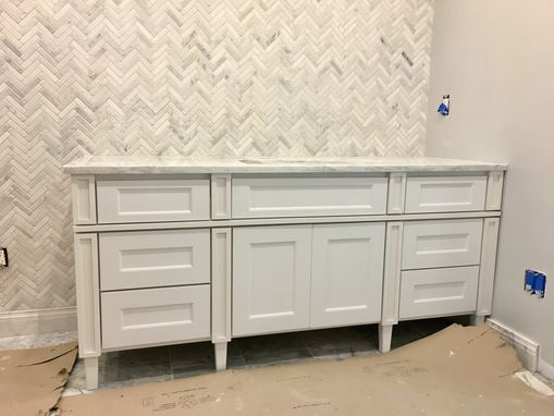 Custom Made Custom Vanities And Bathroom Cabinetry Made To Order