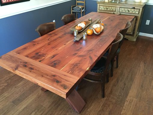 Custom Made Texas Translated Swedish Farm Table