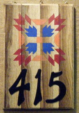 Custom Made Your Barn Quilt Address