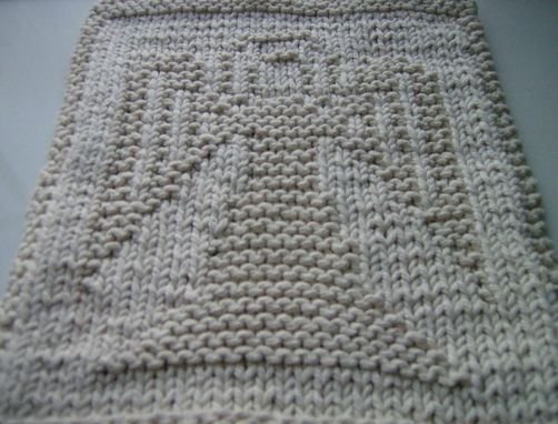 Custom Made Grey Angel Knitted Cotton Cloth For  Bathroom, Ktichen, And More