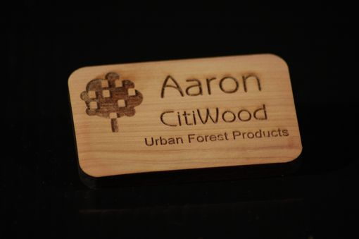 Custom Made Name Badges