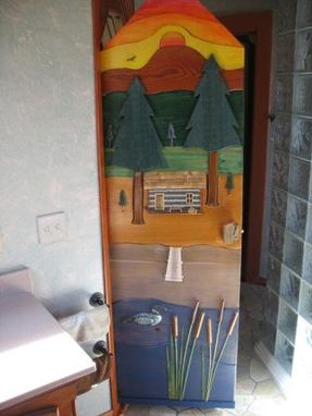 Custom Made Sauna Door