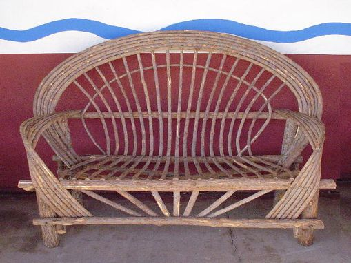 Custom Made Patio Furniture Outdoor Garden Indoor Home Décor Lodge Cabin Pool Beach Willow