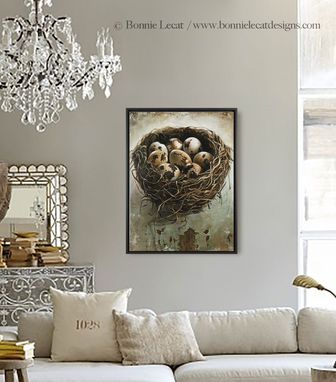 Custom Made Tangled - Fine Art Giclee Print On Gallery Wrapped Canvas