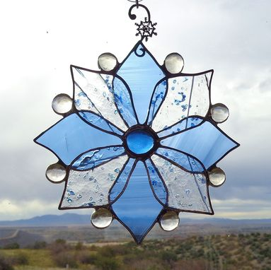Custom Made Holiday Stained Glass Ornaments