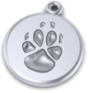 Custom Made Custom Paw Print Key Rings