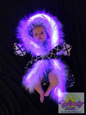 Custom Made Baby Burner Coats For Playa - Steampunk, Light Up, Fun Baby Coats For Burning Man