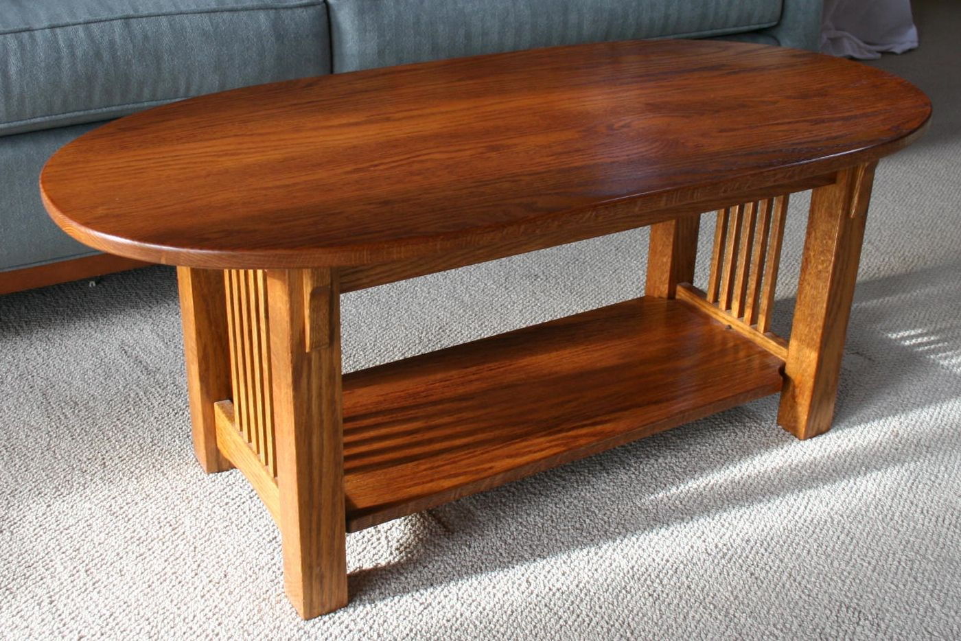 Handmade Mission Coffee Table By Living Forest Designs