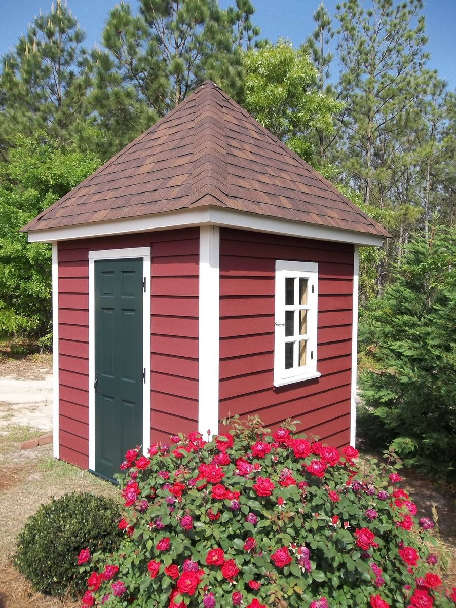 Custom Made Little Williamsburg Style Garden Shed