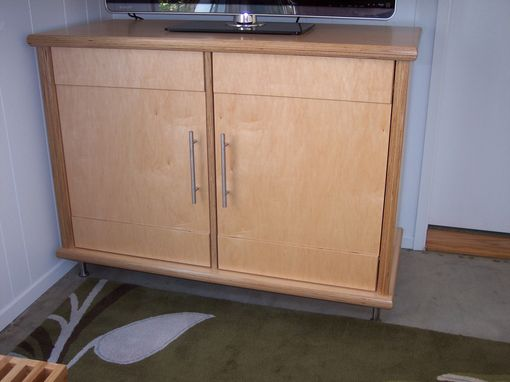 Custom Made Small Entertainment Center