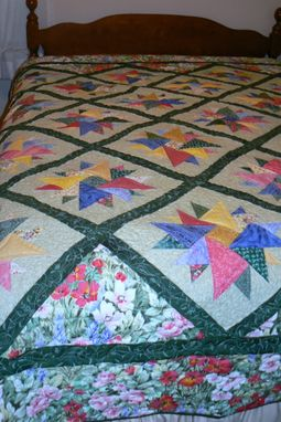 Custom Made Diamonds In The Rough-Queen Size Quilt
