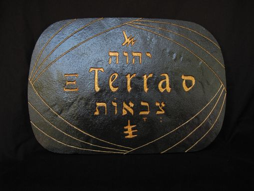 Custom Made Terra - Samech. Lord Of War Earth Tablet.