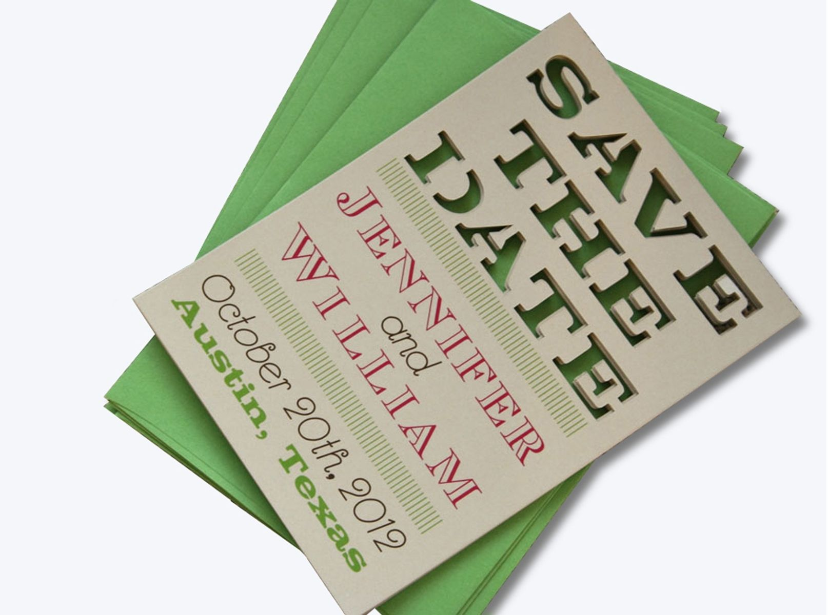 Custom Letterpress, Laser Cut, And Wood Engraved Wedding Invitations ...