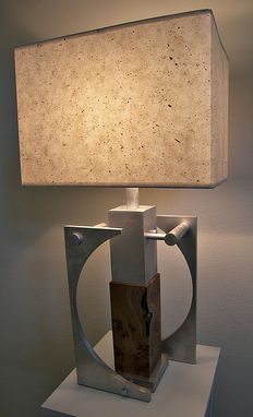 Custom Made Half Moon Lamp
