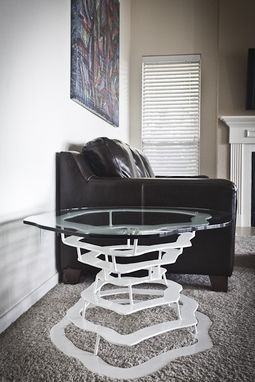 Custom Made Concentric Ring Table