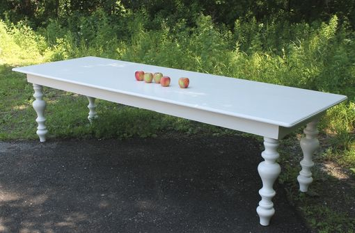 Custom Made Custom Reproduction Table From Somerset Estate In England.