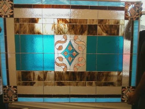 Custom Made Large Stained Glass Window