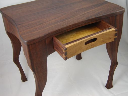 Custom Made Sitka End Table/Nightstand Black Walnut