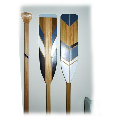 Custom Made Painted Canoe Paddle Set - Customize Your Painted Paddles