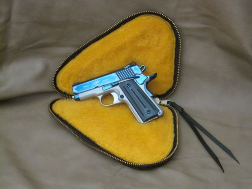 Custom Made Handmade Custom Pistol Case/Rug
