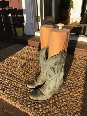 Custom Made Custom Reclaimed Wood Boot Saver