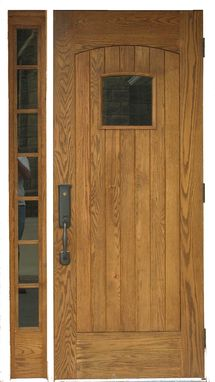 Custom Made Mission Style Entry Door