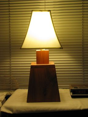 Custom Made Cherry Lamp