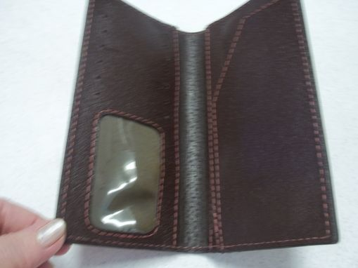 Custom Made Roper Style Leather Bi-Fold Wallets