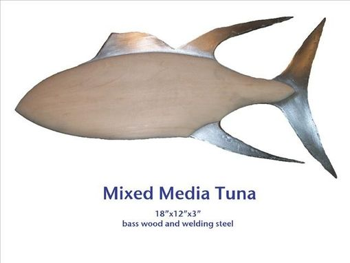 Custom Made Mixed Media Tuna