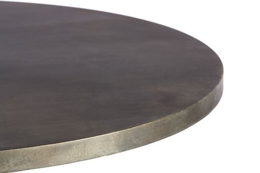 Custom Made Zinc Table  Zinc Dining Table- Greenwich Zinc Top Table