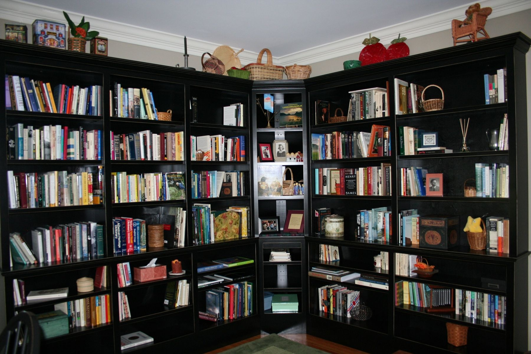 Handmade Home Study Bookcase by Brassfield Custom Woodworks ...