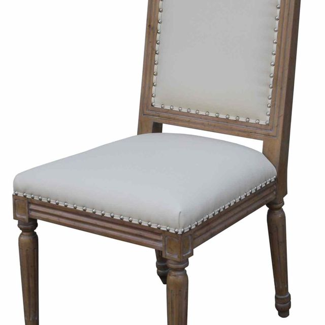 Hand Crafted Classic Custom Wood And Upholstered Dining Chair by ...