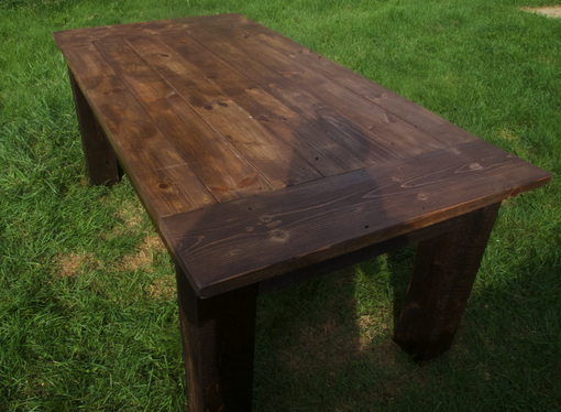 Custom Made Harvest Dining Table