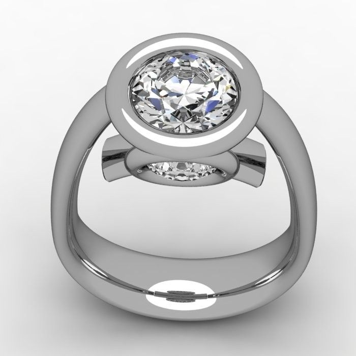 custom made contemporary wedding ring - Contemporary Wedding Rings