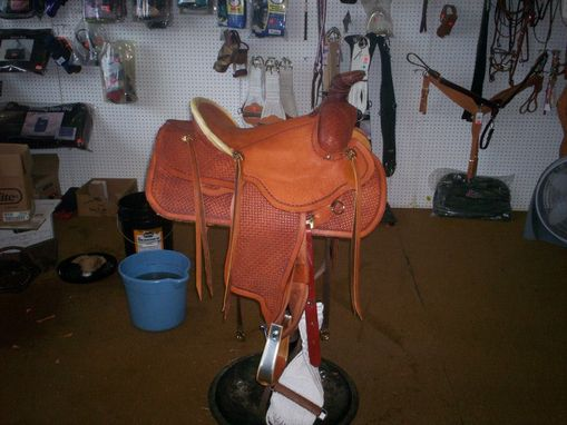 Custom Made Roping Saddle