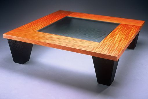 Custom Made Ribbon Coffee Table