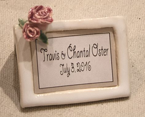 Custom Made Table Setting Plaques