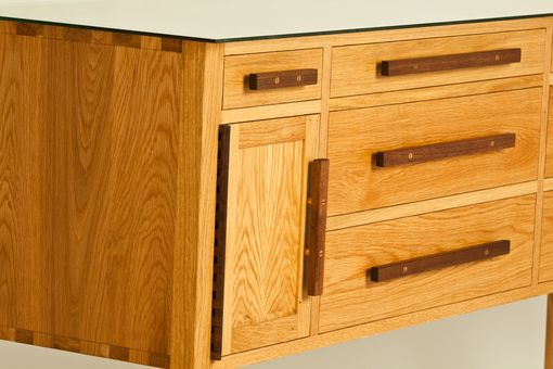 Custom Made White Oak Buffet