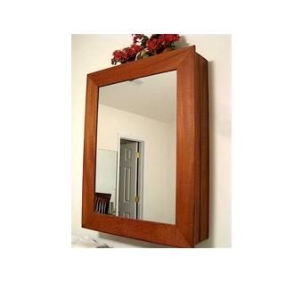 Custom Made Personal Mirror/Jewelry Cabinet