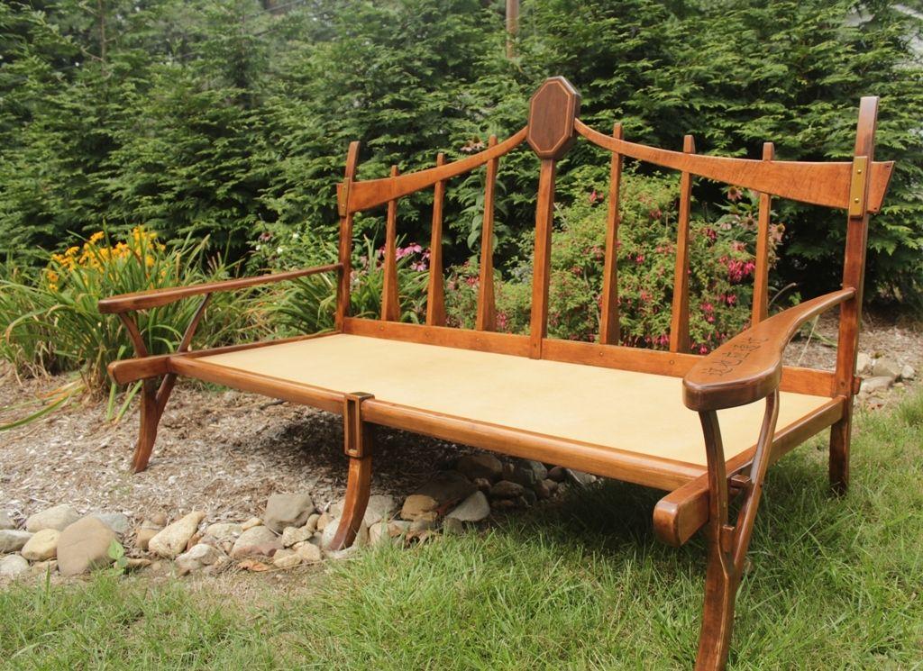 handmade custom asian style sofa by r j hoppe inc. Black Bedroom Furniture Sets. Home Design Ideas