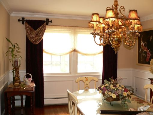 Custom Made Open Swags And Panel Window Treatments