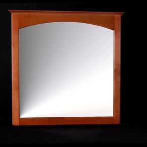 Furniture bathroom mirrors - Hickory medicine cabinet with mirror ...