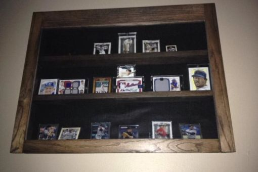 Custom Made Sports Card Display Case
