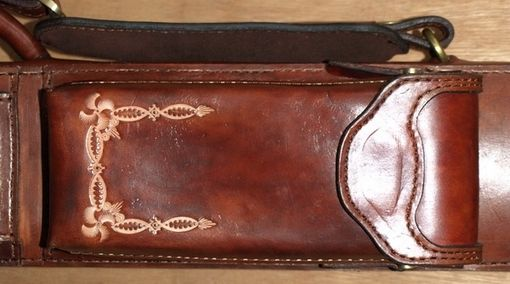 Custom Made 1963 Leather Poolstick Case