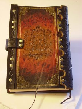 "Custom Made Handcrafted Leather ""Eye Of Sauron"" Journal"