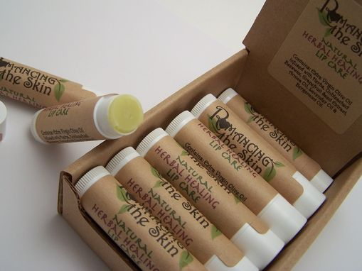 Custom Made Natural Handmade Herbal Healing Lip Care Lip Balm