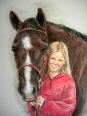 Custom Made Horse Portraits